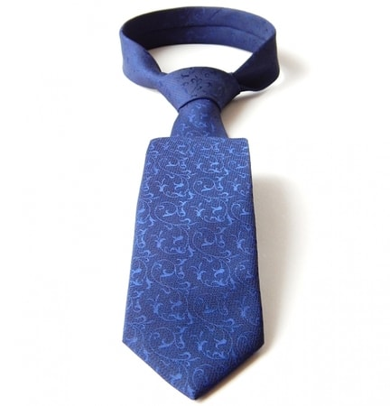 FLORAL - blue, men's tie