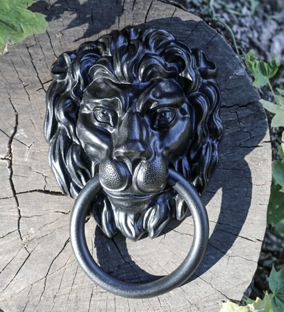 LION, medieval door knocker