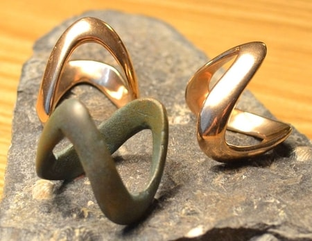 CELTIC BRONZE RING, La Tene, Boii Tribes, central Europe, exact replica