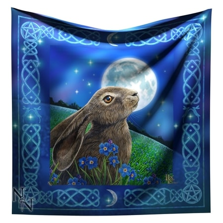 Altar Cloth Moon Gazing Hare
