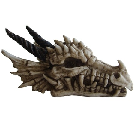 SKULL OF THE DRAGON, OPENABLE BOX