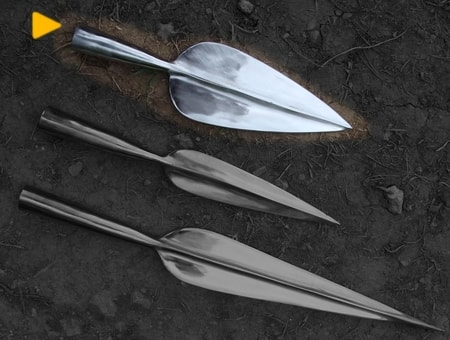 LA TENE SPEAR, REPLICA, WIDE
