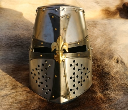 Grand Master, crusader geat helmet, 1.5 mm