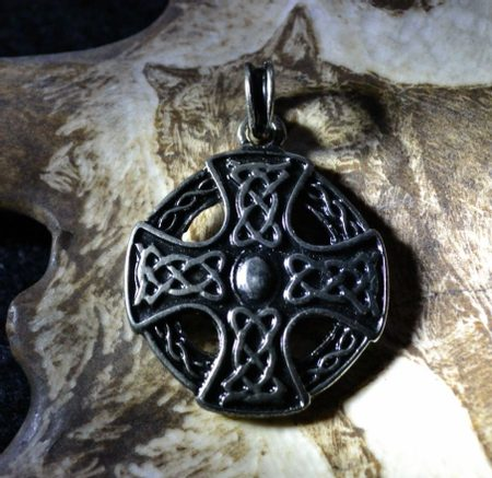 CELTIC CROSS, double sided talsiman