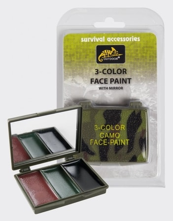 3-color Face Paint