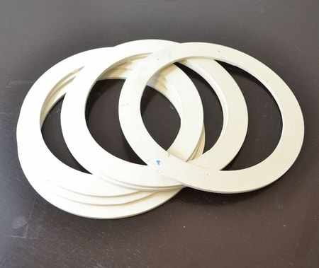 Silicone Flask Gasket, 10.16 cm diameter