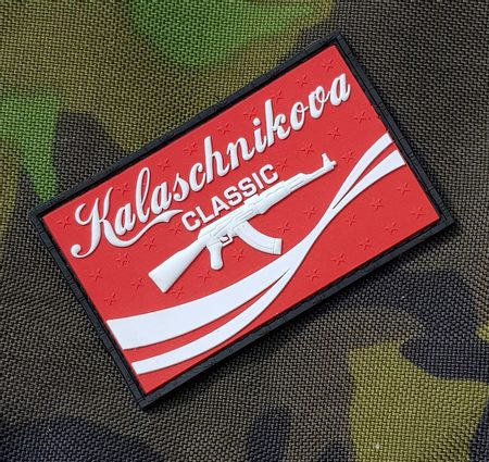 KALASCHNIKOVA, rubber patch