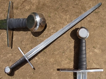 Single Handed Sword Coin Pommel Wulflund Com