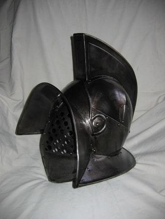 Gladiator Murmillo Helmet Custom Made Gladiator Armour