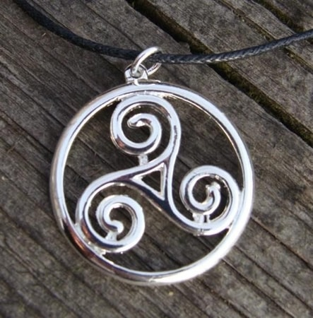 Celtic pendants pagan jewellery wholesale wulflund silvered triskell mozeypictures Gallery