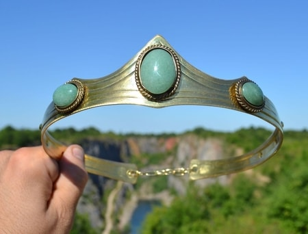CROWN with aventurine