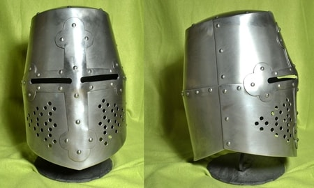 Medieval Helmets for Re-enactment - Wulflund Armoury