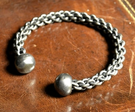 FORGED BRAIDED STEEL BRACELET