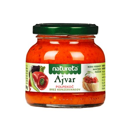 AJVAR GENTLY SPICY 290 G - NATURETA