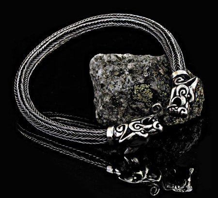 Viking Knit Silver Jewelry