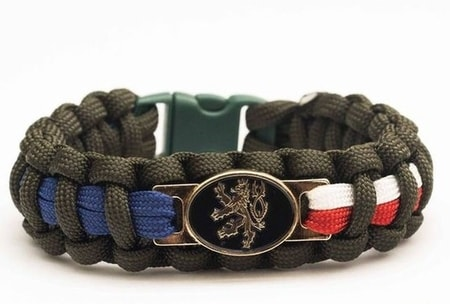 Paracord BRACELET - Czech Republic