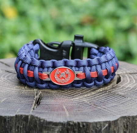 FIREFIGHTER, paracord bracelet