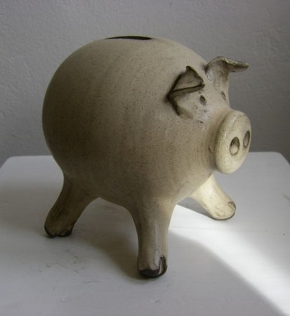 PIG ceramic money box