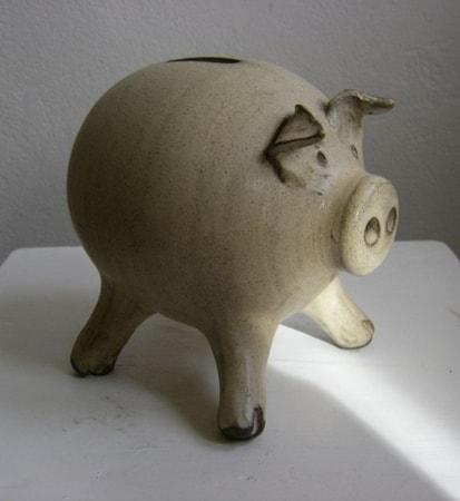 PIG ceramic money box wulflundcom