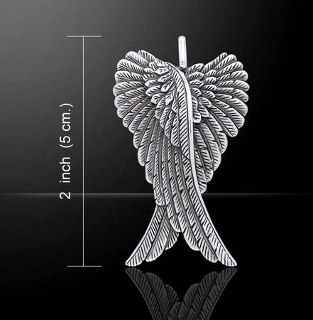 WINGS OF THE FALLEN ANGEL, silver 925, 11,9 g