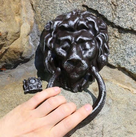 Door Knocker Lion, alloy