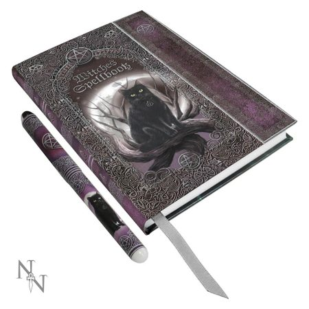 BOOK OF SHADOWS WITH A PEN - CAT