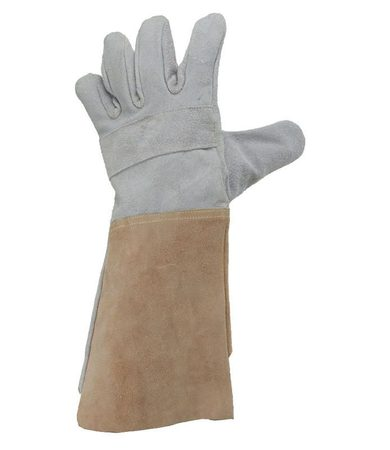 Long WELDING LEATHER GLOVES