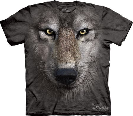 WOLF FACE, The Mountain, t-shirt