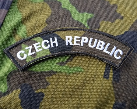 Czech Republic Camo vz 95 velcro patch