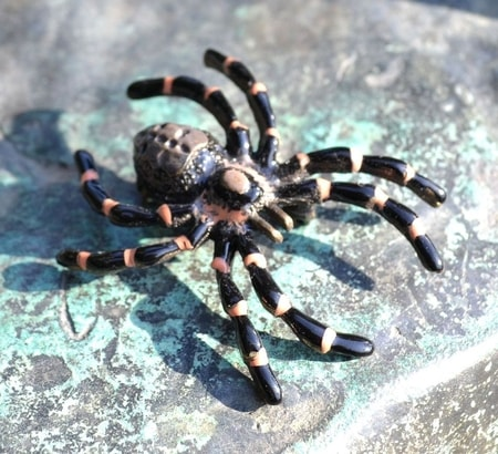 SPIDER, costume brooch