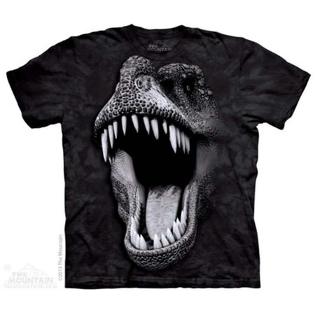 Big Face Glow Rex - Dinosaur T-Shirt The Mountain