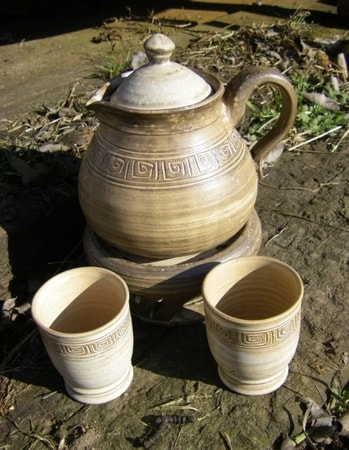 Ceramic set for Mead