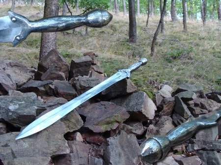 SWORD OF THE TUMULUS, HALLSTATT CULTURE