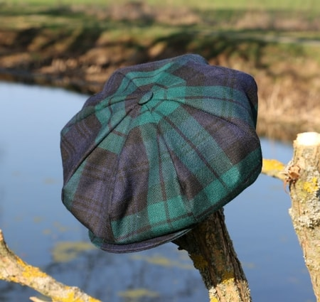 Eight Panel Cap Tartan, Ireland