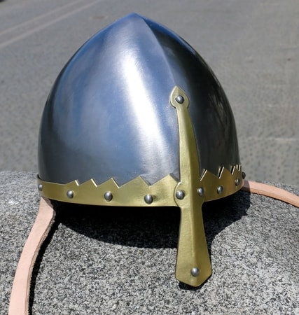 Wenceslas Helmet with Brass