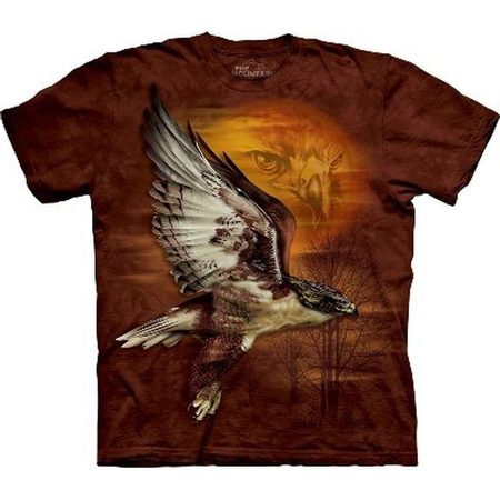 Hawk Sun, The Mountain, t-shirt
