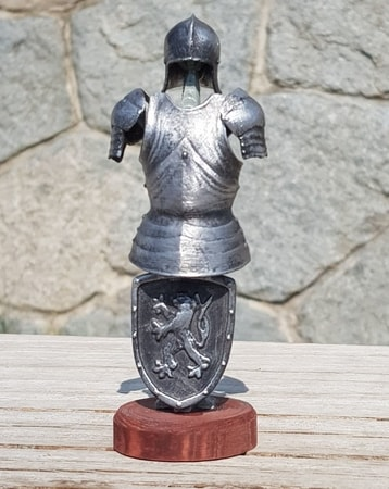 Suit of Armor, tin figure