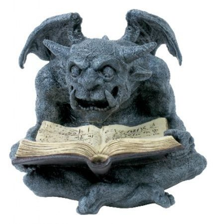 GARGOYLE is reading