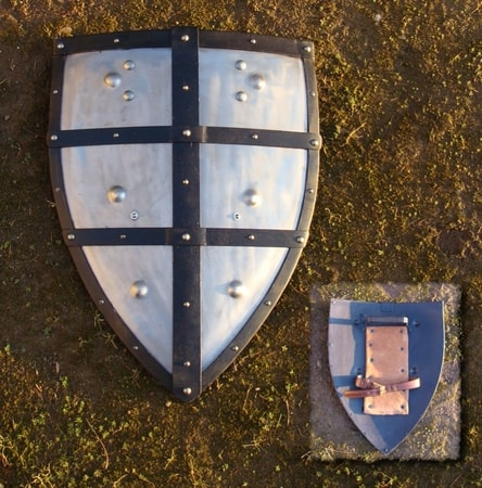 Iron Battle Ready Shield - Shields for Swordplay - Shields for Swordgame