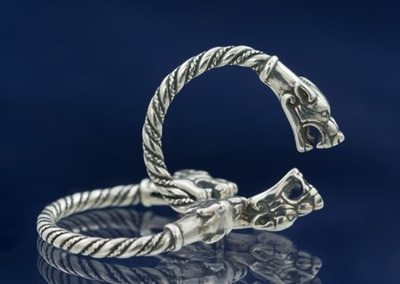WOLF SILVER RING JEWELLERY