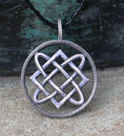 LADA, Slavic Amulet, tin - wulflund com