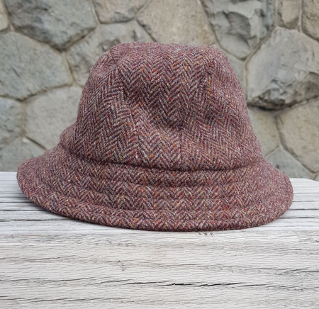 ESKE HAT TWEED, WOOLLEN HAT, RED