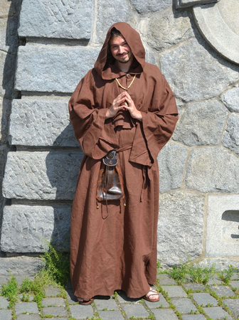Medieval Monk Costume Rental Costume Rentals Historical
