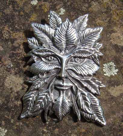 SILVER GREEN MAN, BIG