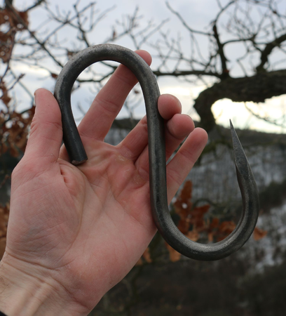 FORGED HOOK FOR A VARIETY OF USES