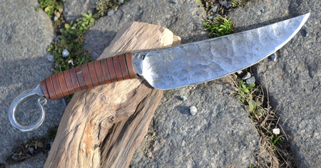 HAND FORGED UTILITY CELTIC KNIFE