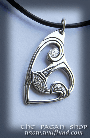 CELTIC NECKLACE, HANDCRAFTED SILVER JEWEL VIII