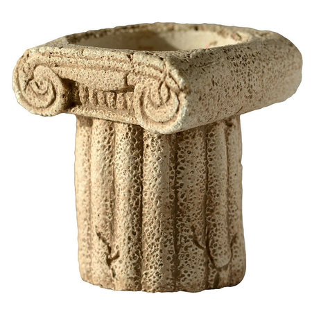 ANCIENT COLUMN, CANDLE HOLDER