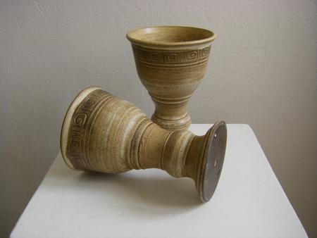 Medieval Ceramic Goblet For Wine Wulflund Com