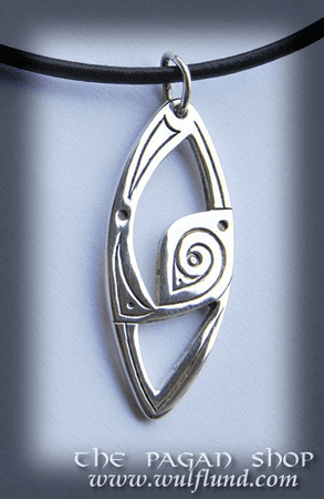 CELTIC NECKLACE, HANDCRAFTED SILVER JEWEL, XXII